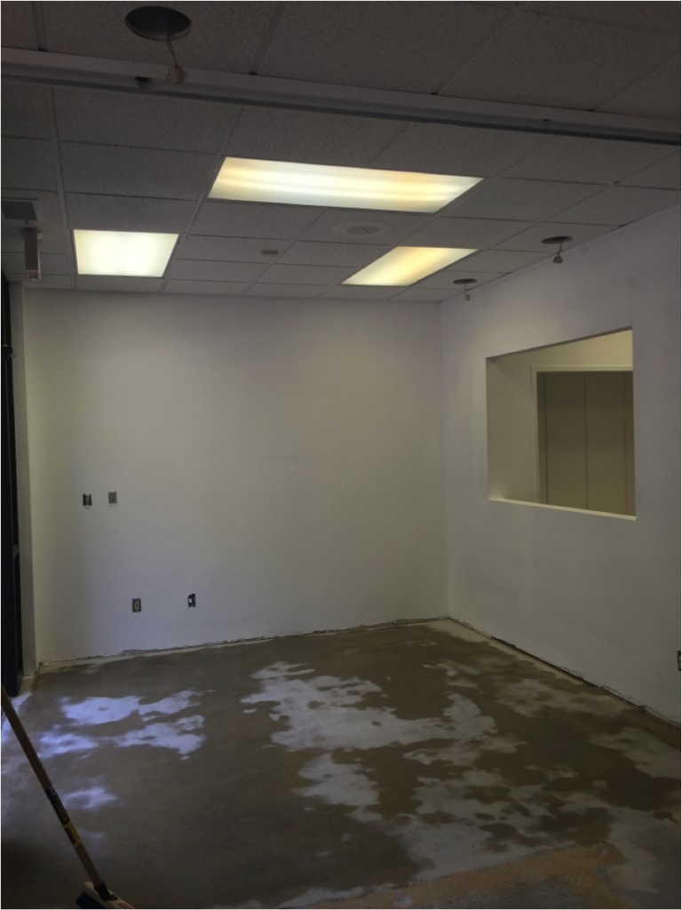 Portico Studio Raleigh before renovation